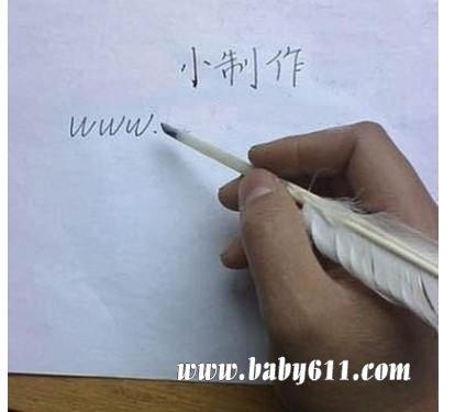 钢笔笔尖的形状就是从羽毛笔演变而来的!