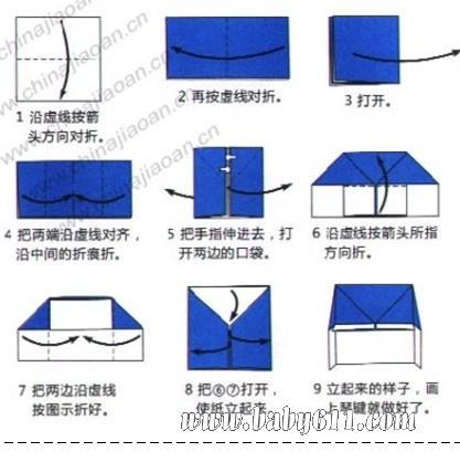 幼儿园手工课折纸教案:钢琴