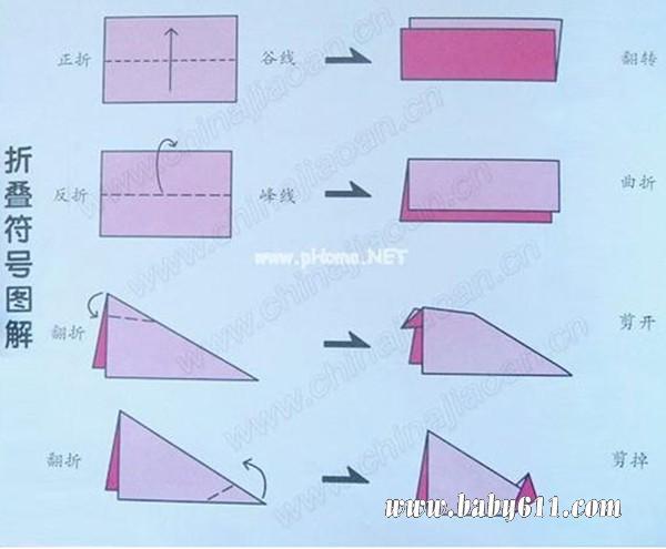 幼儿园手工课折纸教案:鸭子