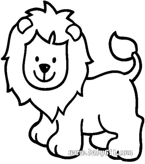 简单狮子画法步骤