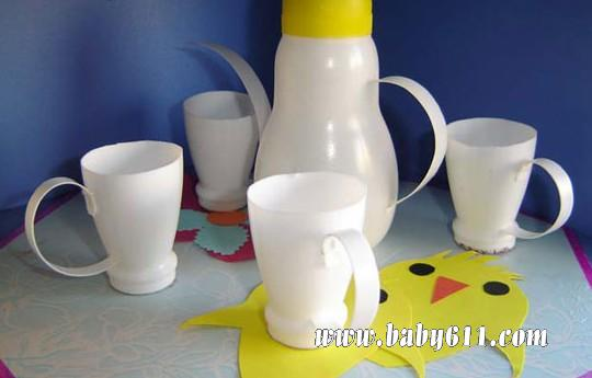 茶壶茶杯儿童画