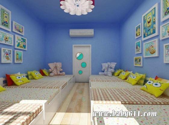 睡房布置幼儿园_幼儿园卧室环境布置图片