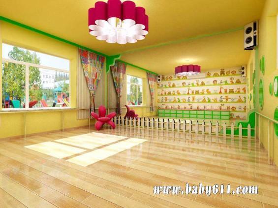 幼儿园舞蹈室/活动室 环境布置图片