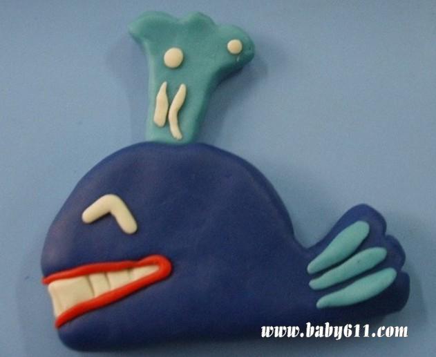橡皮泥贴画:小白兔         橡皮泥手工作品贴画:小鱼 网友