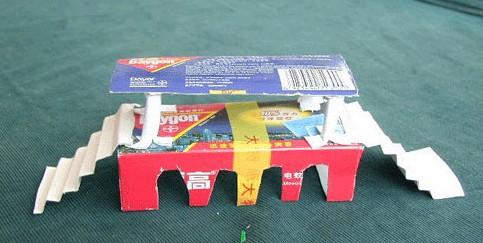 废纸盒手工—桥;