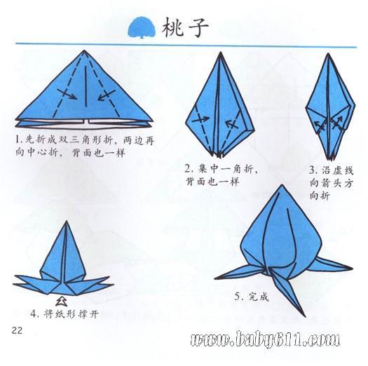 桃子         幼儿手工折纸:椅子         幼儿手工折纸:葫芦 网友