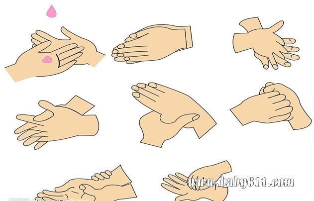 幼儿园小班健康活动教案:洗洗小手