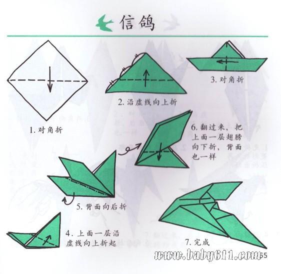 幼儿园儿童手工折纸图片,教程