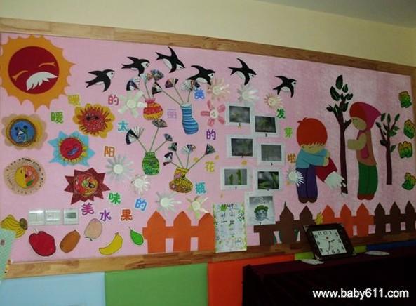 幼儿园手工主题墙布置图片(4)