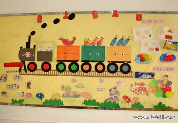 幼儿园手工主题墙布置图片(5)