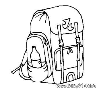 背包- 简笔画