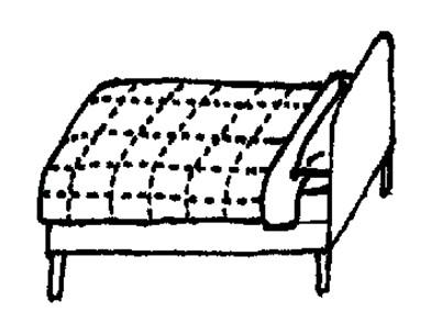 床- 简笔画