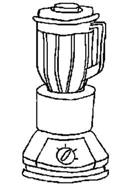 儿童简笔画:豆浆机