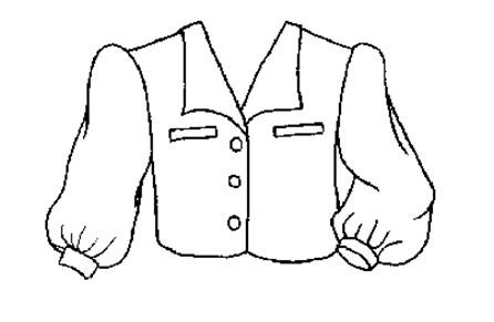 儿童简笔画:衣服