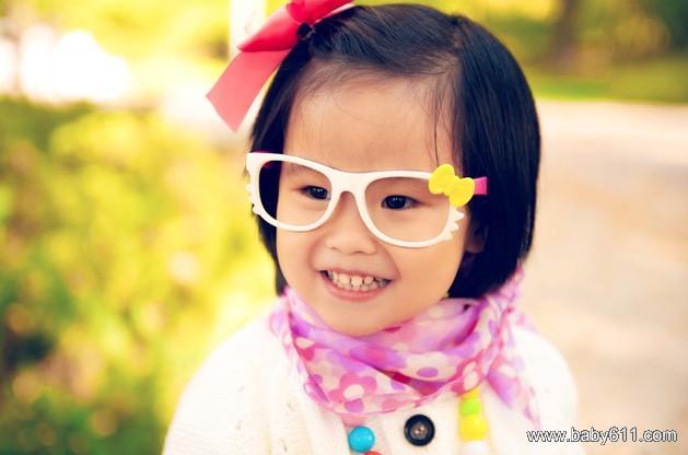 可爱小女孩小艾照片(2)