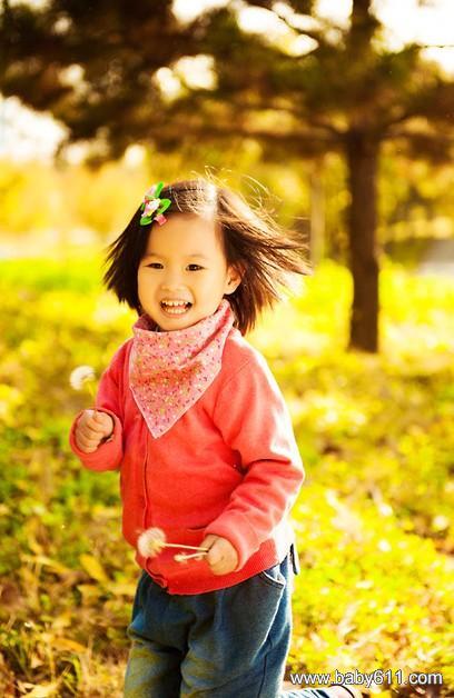可爱小女孩小艾照片(6)