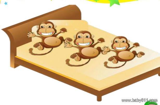 幼儿中班三只小猴子音乐教案