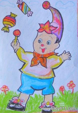 幼儿园教师美术作品边框