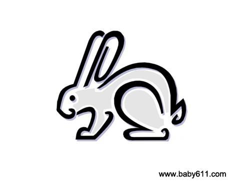 儿童简笔画:小兔
