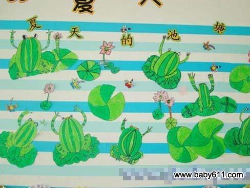 幼儿园夏天环境装饰图片:向日葵