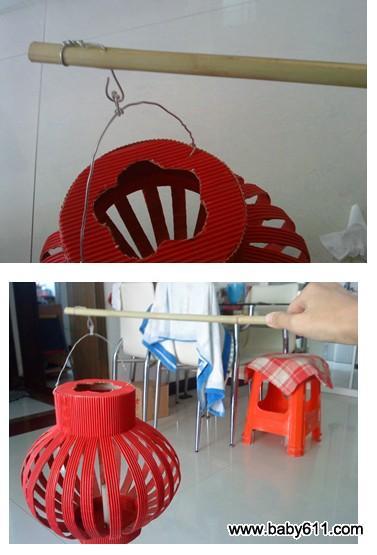 幼儿园中班过中秋节——自制灯笼