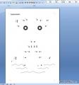 幼儿园蒙氏数学作业:连连看(数字的顺序)