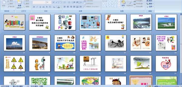 幼儿园小学安全用电知识讲座 PPT课件图片