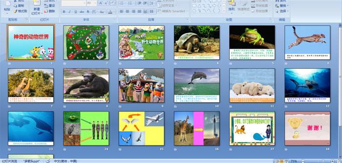 幼儿园大班科学:神奇的动物世界