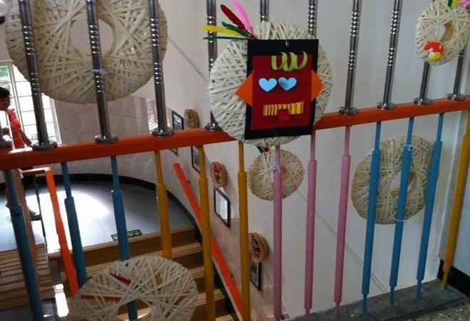 幼儿园走廊楼梯环境图(2)