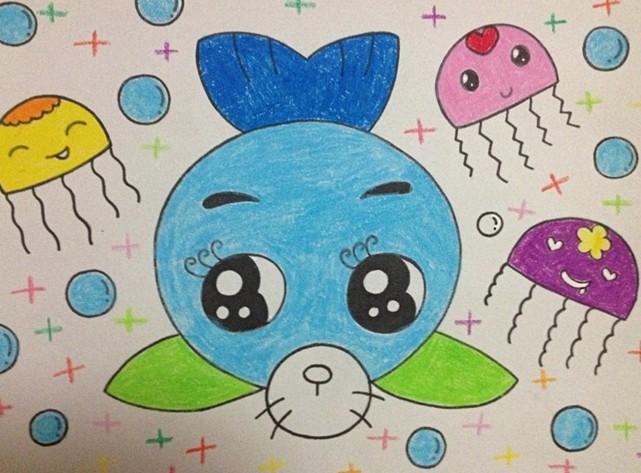 幼儿园教案大全 幼儿园手工技能教案 绘画作品    幼儿园儿童画的课程