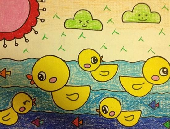 幼儿园简笔画作品图片分享图片