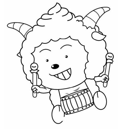 特价促销喜洋洋与灰太狼简笔画幼儿画画书涂色画    www.yunheboat.