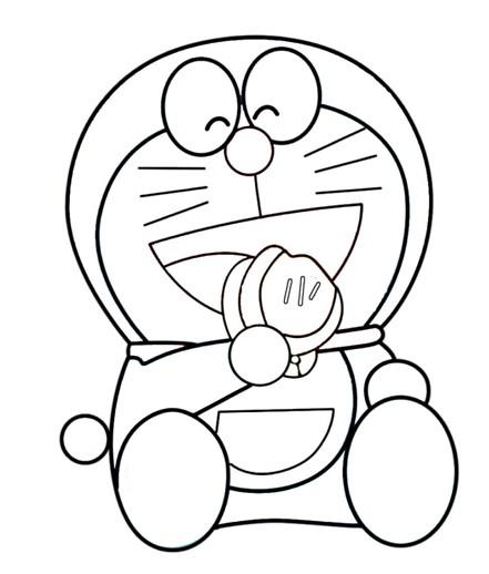 幼儿简笔画 机器猫