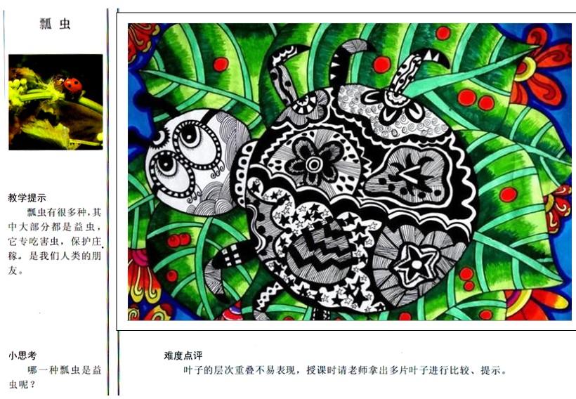 幼儿园中班故事大全_幼儿园中班创意美术:瓢虫 - 创意美术