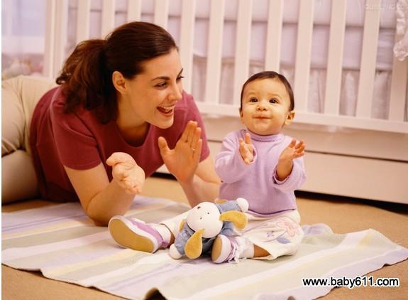 分阶段教宝宝说话能促进大脑发育