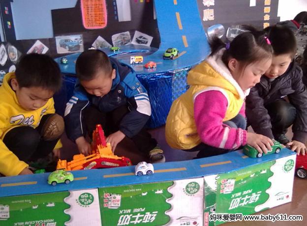 幼儿园小班科学活动教案:最喜欢的车