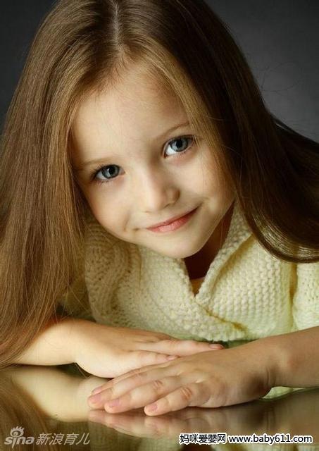 童模安吉丽娜写真照(3)