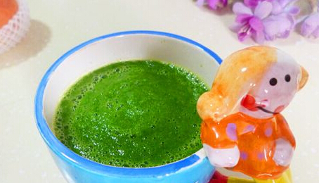 四个月宝宝辅食食谱:花椰菜汁