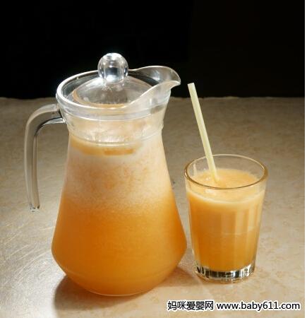 五个月宝宝辅食食谱:哈密瓜汁