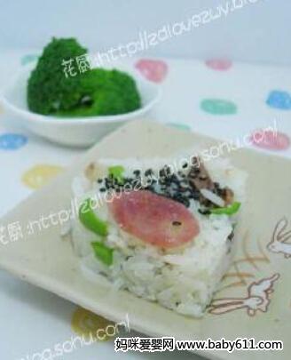 儿童米饭花样图解图片