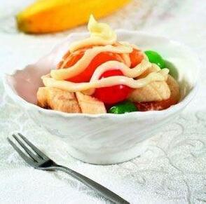 儿童四季食谱:莲肉烩鸭丁