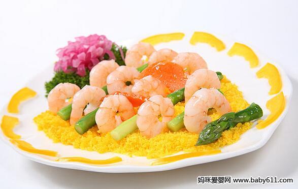 儿童四季食谱:软溜虾仁腰花丁