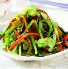 儿童菜谱蔬菜类:多味蔬菜丝