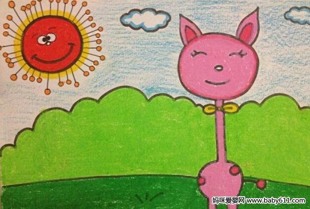 幼儿园儿童画课程指导与范画欣赏 5