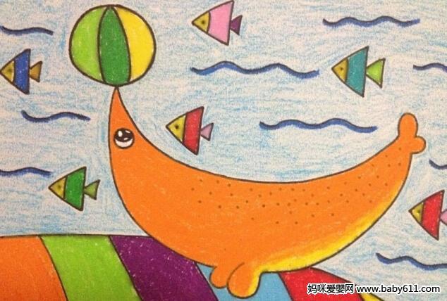 幼儿园儿童画课程指导与范画欣赏(6)
