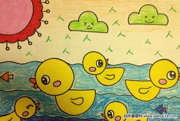 幼儿园儿童画课程指导与范画欣赏 8