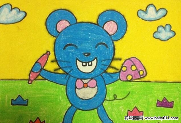 幼儿园儿童画课程指导与范画欣赏(10)