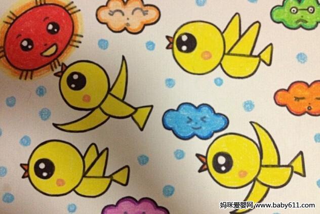 幼儿园儿童画课程指导与范画欣赏 12