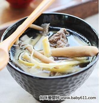 药膳食谱:益气鹅肉汤
