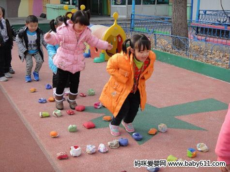 幼儿园体育游戏集锦